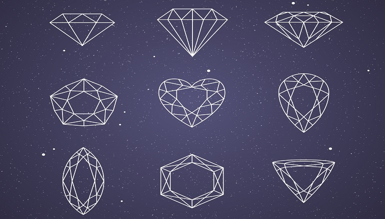 Different Types of Diamond Shapes You can Choose