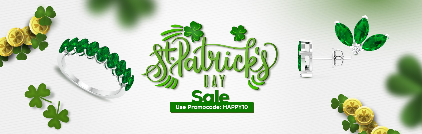 St Patrick's Day Jewelry Collection
