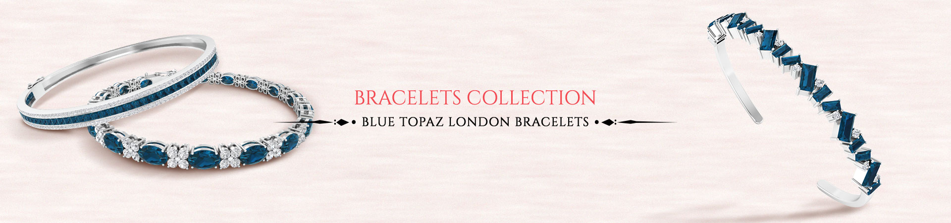 Blue Topaz London Bracelet