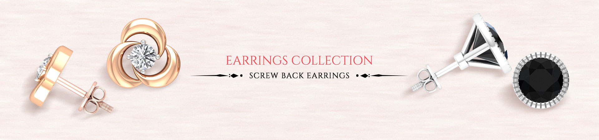 Screw Back Earrings