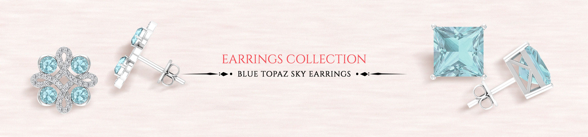 Blue Topaz Sky Earrings