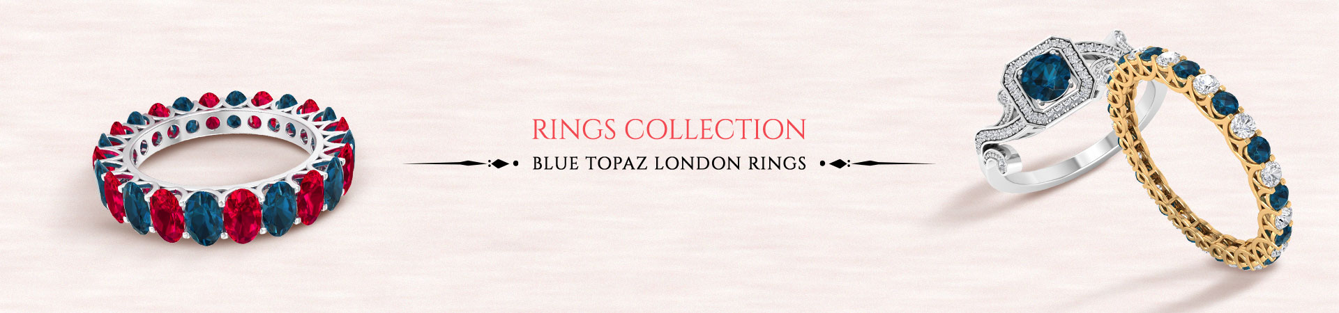 London Blue Topaz Rings